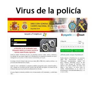 Eliminar el virus de la Policía
